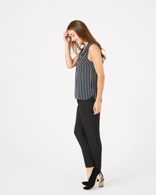 Diana striped sleeveless top (1) - 1-2-3