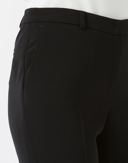 Natura tailored black trousers (2) - 1-2-3