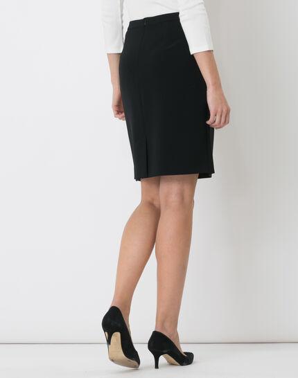 Jackie black tailored skirt (5) - 1-2-3