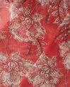 Selia raspberry printed scarf (3) - 1-2-3
