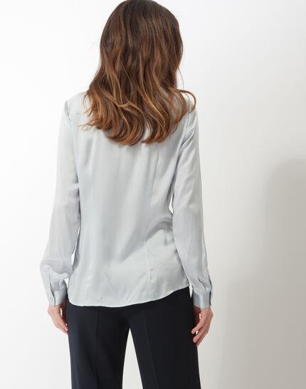 Dany sky blue silk shirt (5) - 1-2-3