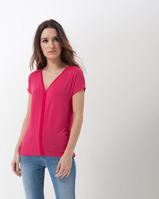 Tee-shirt fuchsia Nem (2) - 1-2-3