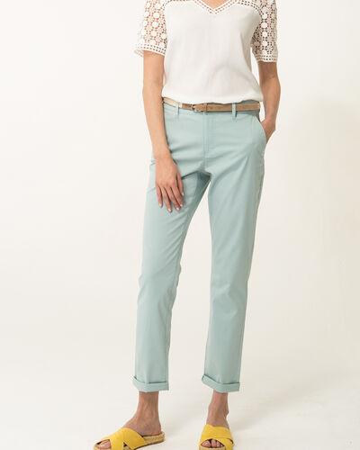 Pantalon 7/8ème bleu ciel Francis (1) - 1-2-3