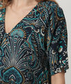 Ebene printed blouse PhotoZ | 1-2-3