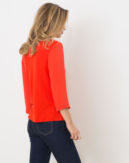 Nuage orangey T-Shirt (5) - 1-2-3