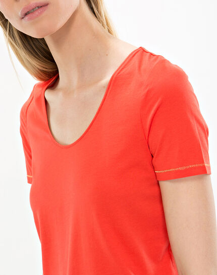 Noon orange T-shirt  (2) - 1-2-3