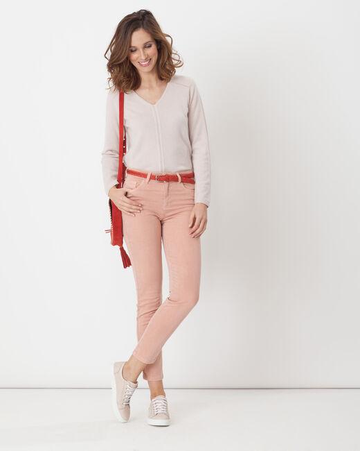Pantalon rose pâle 7/8ème Oliver (1) - 1-2-3