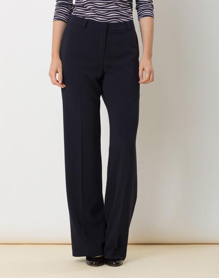 Pepin bis navy blue wide-cut trousers PhotoZ | 1-2-3