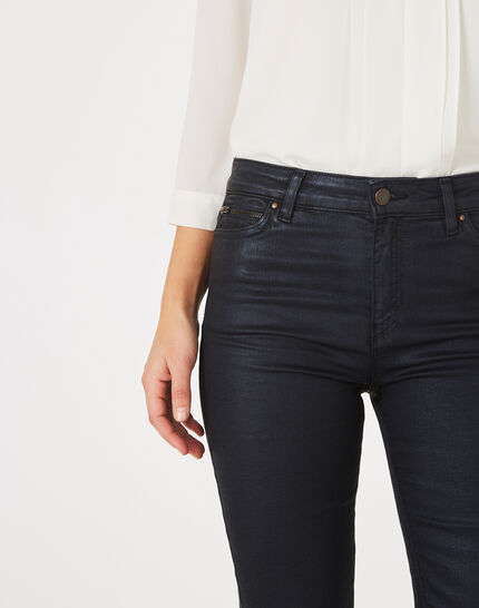 William coated navy blue trousers (2) - 1-2-3