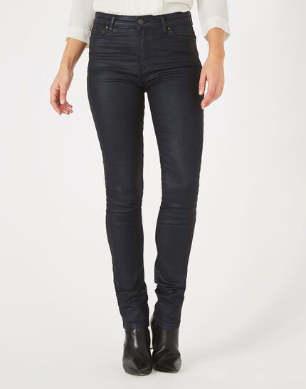 William coated navy blue trousers (3) - 1-2-3