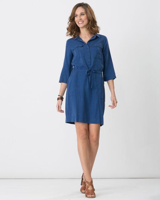 Robe bleue en lyocell Bliss (1) - 1-2-3