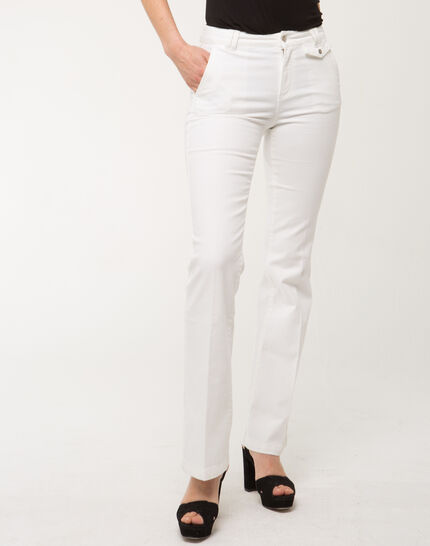 Jack wide-leg white jeans PhotoZ | 1-2-3