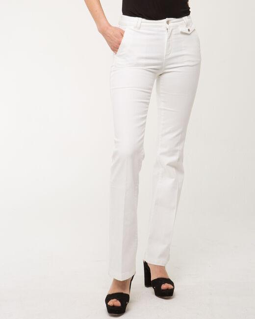 Jack wide-leg white jeans (2) - 1-2-3