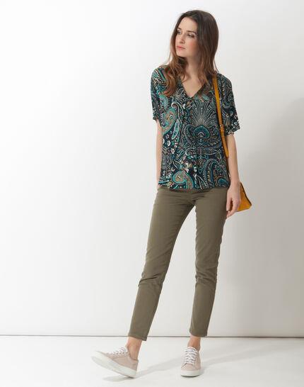 Ebene printed blouse (2) - 1-2-3