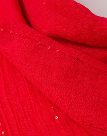 Safir sequined coral stole (3) - 1-2-3