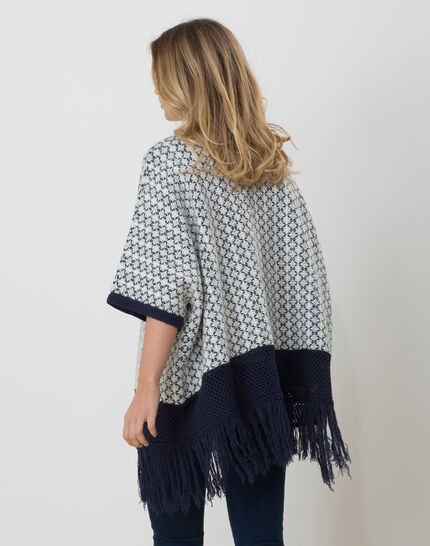 Hibiza blue printed cape (3) - 1-2-3