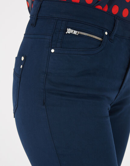 William slim-cut blue trousers (3) - 1-2-3