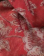 Selia raspberry printed scarf raspberry.
