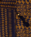 Salvatore caramel cotton printed scarf PhotoZ   1-2-3
