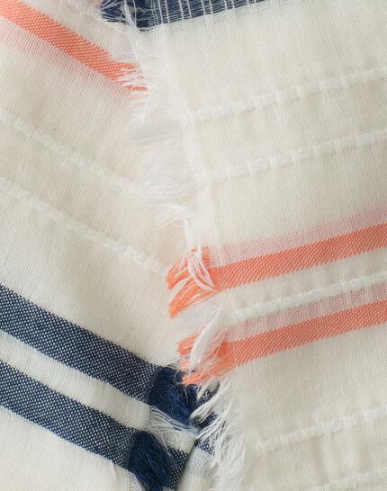 Sael stripy scarf PhotoZ | 1-2-3