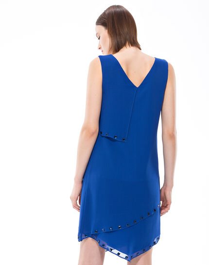 Fabienne floaty blue dress with cabochons (4) - 1-2-3