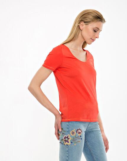 Tee-shirt orange Noon (4) - 1-2-3