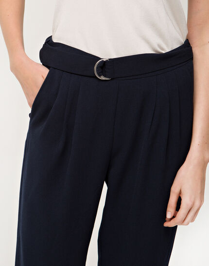 Douguy blue tapered trousers (5) - 1-2-3