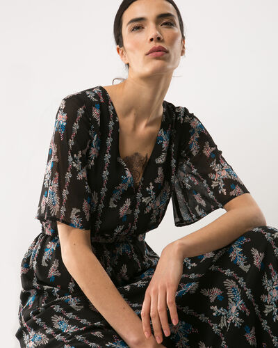Babylone long printed dress (1) - 1-2-3