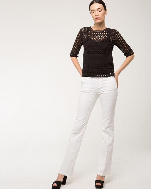 Jack wide-leg white jeans (1) - 1-2-3