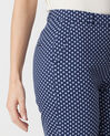Rumba blue tailored jacket with polka dots (5) - 1-2-3