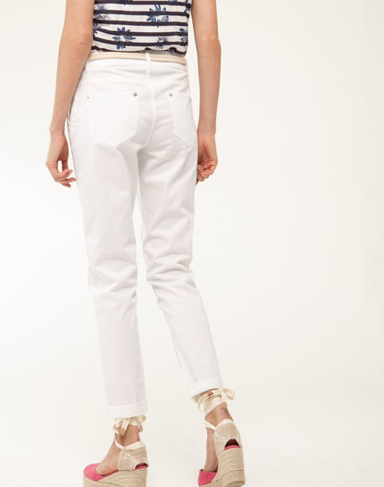 Francis white 7/8 length trousers (4) - 1-2-3