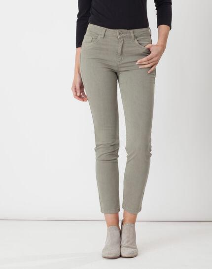 Oliver light khaki 7/8 length trousers PhotoZ | 1-2-3
