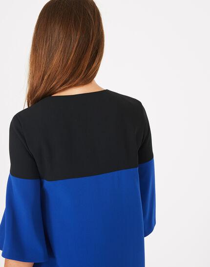 Robe bicolore Alexia (4) - 1-2-3