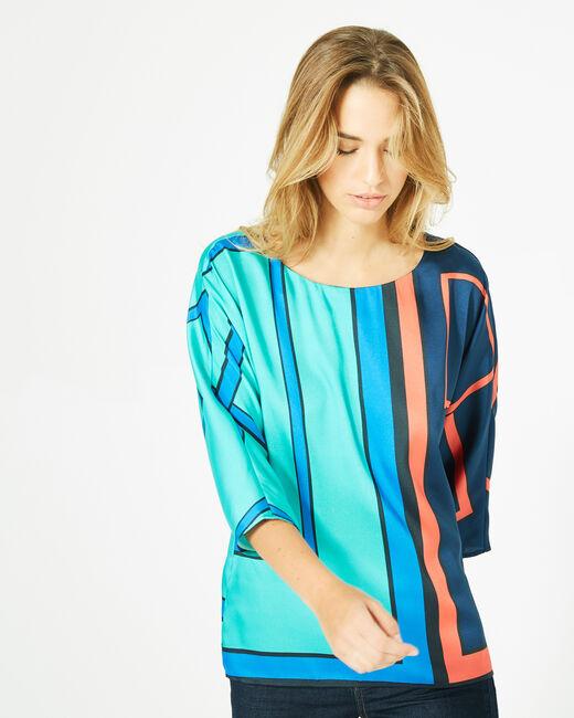 Enjoy bis graphic printed blouse (2) - 1-2-3