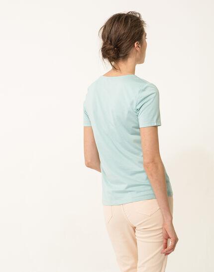 Noon sky blue T-shirt (4) - 1-2-3