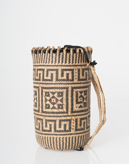 Pakito black and white beach basket (3) - 1-2-3