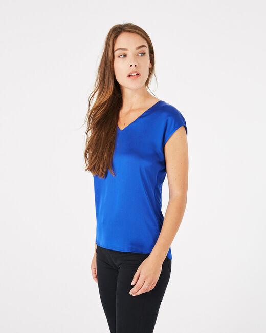 Tee-shirt bleu roi Blanche (2) - 1-2-3
