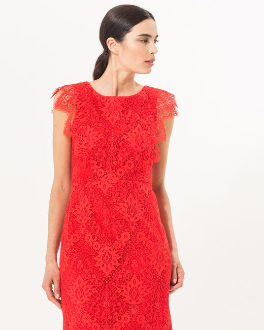 Fuego red lace dress (2) - 1-2-3