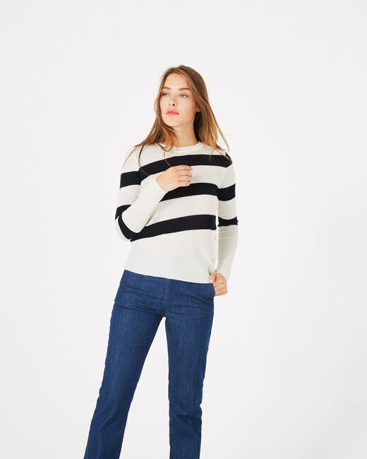 Phare sweater with wide stripes (2) - 1-2-3