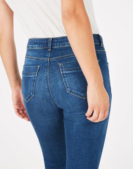 Oliver indigo stonewashed 7/8 length jeans (5) - 1-2-3