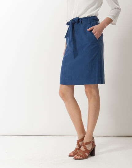Dolce lyocell blue skirt (3) - 1-2-3