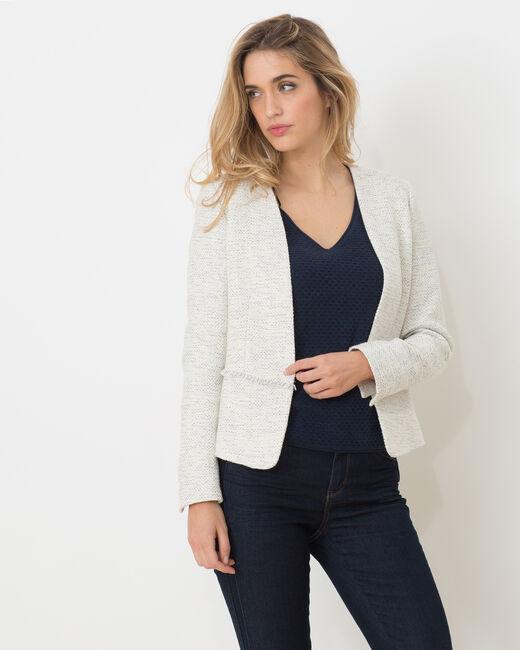 Veste de tailleur bleu pâle Aude (2) - 1-2-3