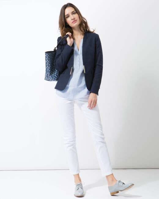 Claire blue tailored jacket (1) - 1-2-3