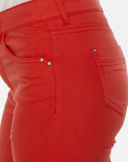 Oliver orange cropped trousers (5) - 1-2-3