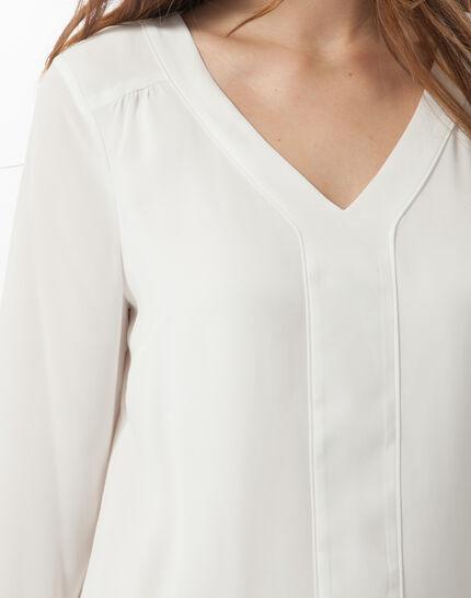Tee-shirt écru Nuage (2) - 1-2-3