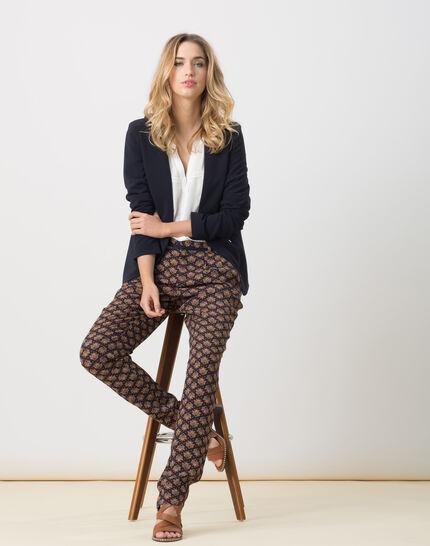 Emma ecru blouse with lace PhotoZ | 1-2-3
