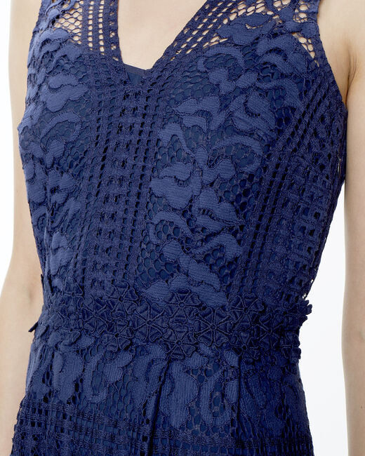 Fauve blue lace dress (2) - 1-2-3