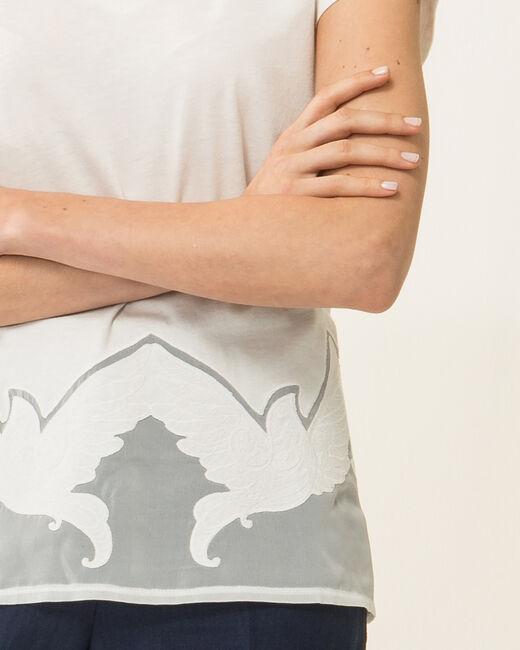 Noiseau ecru lace T-shirt (2) - 1-2-3