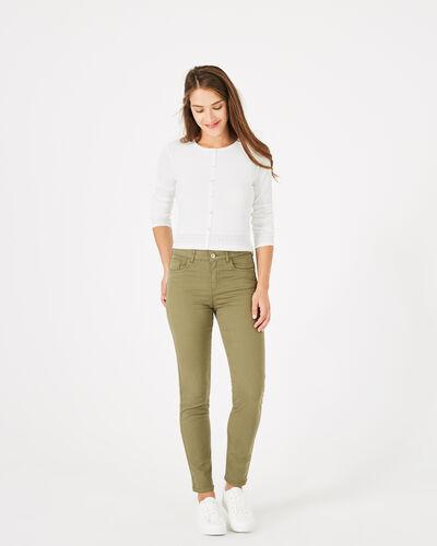 Pantalon kaki 7/8ème Oliver (2) - 1-2-3