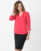 Elea pink shirt raspberry.